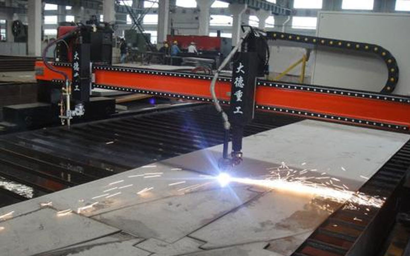 Plasma-Cutting-Machine-Before-Cutting